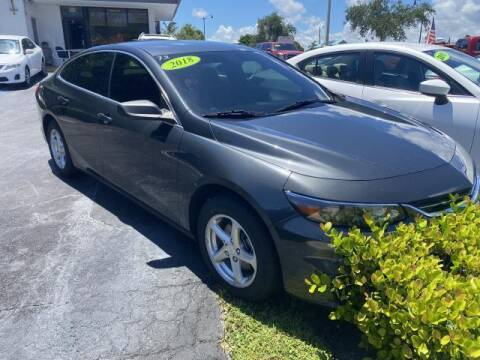 2018 Chevrolet Malibu for sale at Mike Auto Sales in West Palm Beach FL