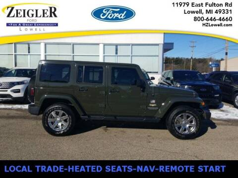 2015 Jeep Wrangler Unlimited for sale at Zeigler Ford of Plainwell- Jeff Bishop in Plainwell MI