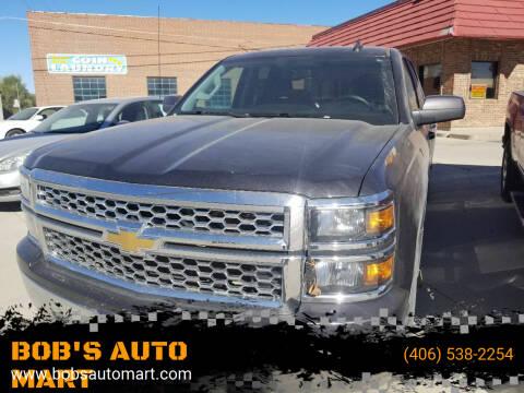 2015 Chevrolet Silverado 1500 for sale at BOB'S AUTO MART in Lewistown MT