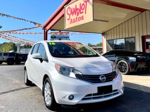 2016 Nissan Versa Note for sale at Sandlot Autos in Tyler TX