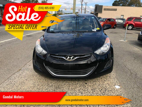 2012 Hyundai Elantra for sale at Gondal Motors in West Hempstead NY