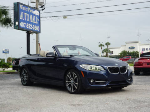 2015 BMW 2 Series for sale at Winter Park Auto Mall in Orlando FL