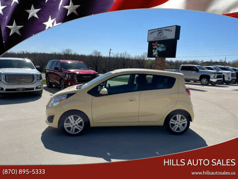 2015 Chevrolet Spark for sale at Hills Auto Sales in Salem AR