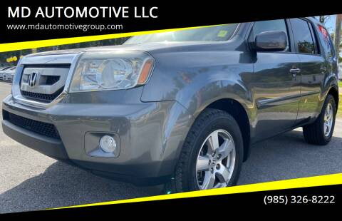 2011 Honda Pilot for sale at MD AUTOMOTIVE LLC in Slidell LA