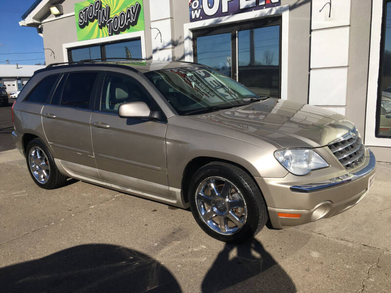 2008 Chrysler Pacifica for sale at MARIETTA MOTORS LLC in Marietta OH