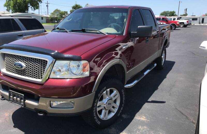 2004 Ford F-150 for sale at Westok Auto Leasing in Weatherford OK