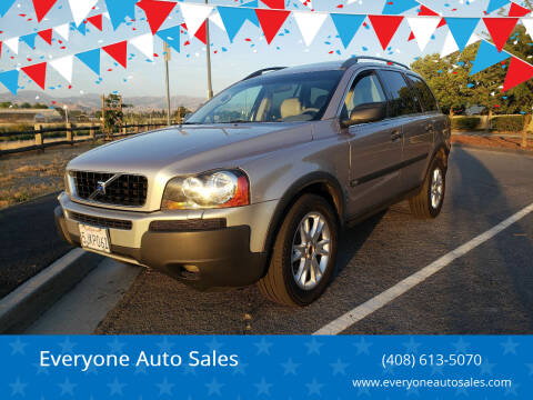 2004 Volvo XC90 for sale at Everyone Auto Sales in Santa Clara CA