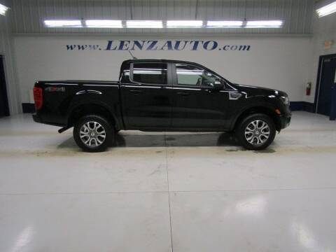 2020 Ford Ranger for sale at LENZ TRUCK CENTER in Fond Du Lac WI