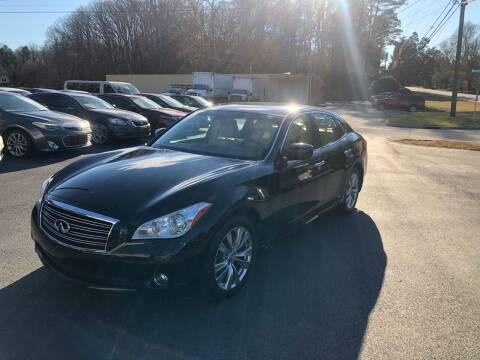 2012 Infiniti M37 for sale at Luxury Auto Innovations in Flowery Branch GA