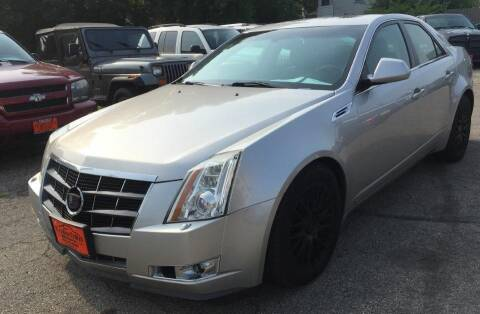 2008 Cadillac CTS for sale at Knowlton Motors, Inc. in Freeport IL