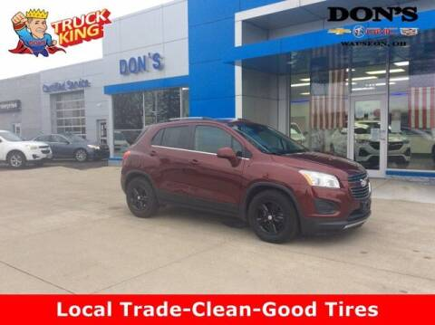 2016 Chevrolet Trax for sale at DON'S CHEVY, BUICK-GMC & CADILLAC in Wauseon OH