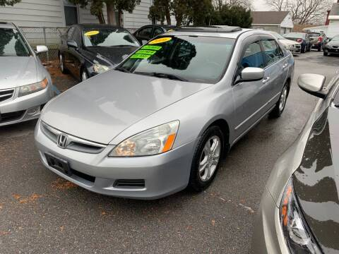 2006 Honda Accord for sale at DARS AUTO LLC in Schenectady NY