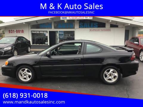 2005 Pontiac Grand Am for sale at M & K Auto Sales in Granite City IL