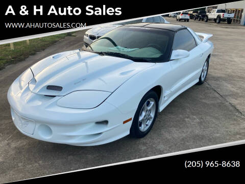 1998 Pontiac Firebird for sale at A & H Auto Sales in Clanton AL