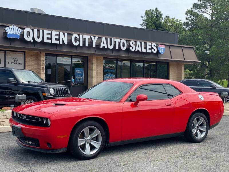 2015 Dodge Challenger for sale at Queen City Auto Sales in Charlotte NC