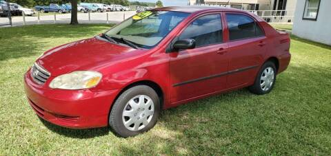2003 Toyota Corolla for sale at Executive Automotive Service of Ocala in Ocala FL