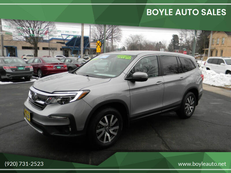 2019 Honda Pilot for sale at Boyle Auto Sales in Appleton WI