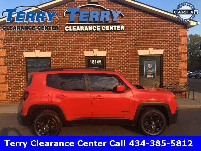 2015 Jeep Renegade for sale at Terry Clearance Center in Lynchburg VA