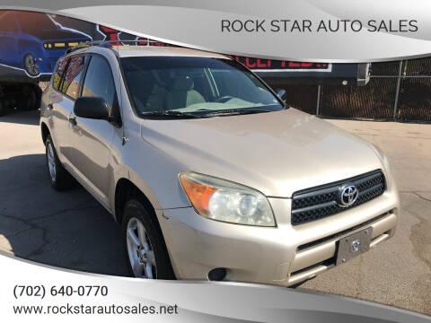 2007 Toyota RAV4 for sale at Rock Star Auto Sales in Las Vegas NV