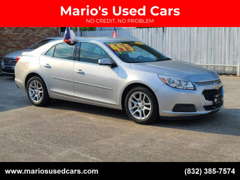 2015 Chevrolet Malibu for sale at Mario's Used Cars - South Houston Location in South Houston TX