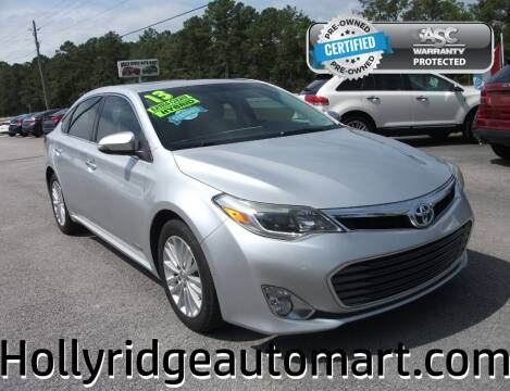 2013 Toyota Avalon Hybrid for sale at Holly Ridge Auto Mart in Holly Ridge NC