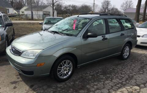 2006 Ford Focus for sale at Antique Motors in Plymouth IN