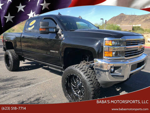 2016 Chevrolet Silverado 2500HD for sale at Baba's Motorsports, LLC in Phoenix AZ