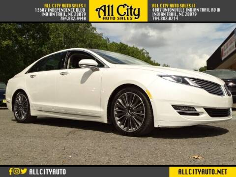 2013 Lincoln MKZ for sale at All City Auto Sales in Indian Trail NC