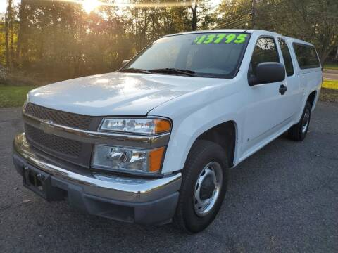 2008 Chevrolet Colorado for sale at CENTRAL AUTO GROUP in Raritan NJ