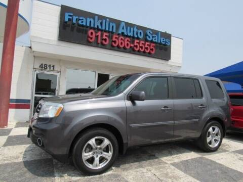 2015 Honda Pilot for sale at Franklin Auto Sales in El Paso TX