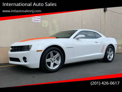 2012 Chevrolet Camaro for sale at International Auto Sales in Hasbrouck Heights NJ