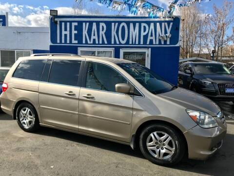 2006 Honda Odyssey for sale at The Kar Kompany Inc. in Denver CO