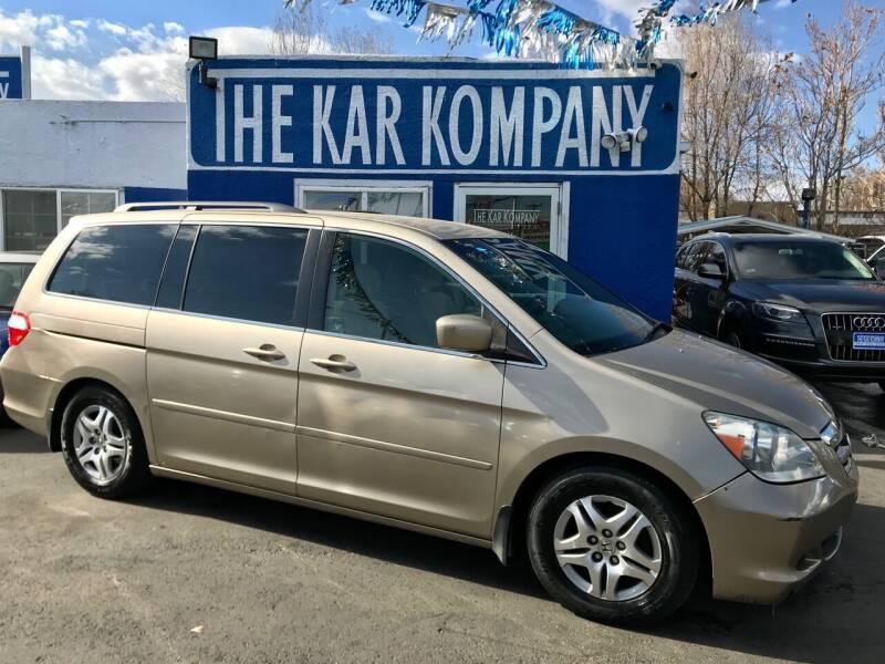 2006 Honda Odyssey for sale at The Kar Kompany Inc. in Denver CO