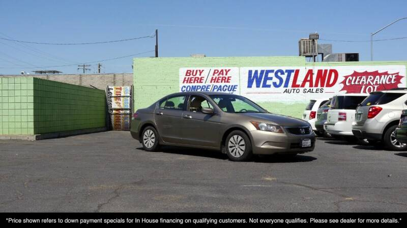 2008 Honda Accord for sale at Westland Auto Sales in Fresno CA