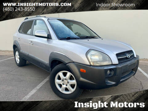 2005 Hyundai Tucson for sale at Insight Motors in Tempe AZ