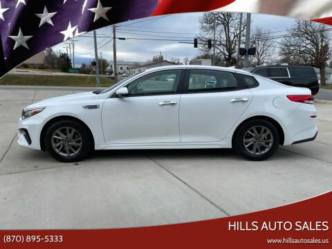 2020 Kia Optima for sale at Hills Auto Sales in Salem AR