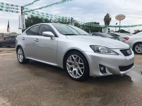 2011 Lexus IS 250 for sale at SOUTHWAY MOTORS in Houston TX