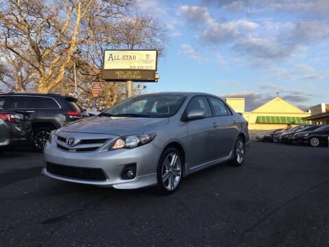 2013 Toyota Corolla for sale at All Star Auto Sales and Service LLC in Allentown PA