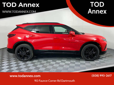 2019 Chevrolet Blazer for sale at TOD Annex in North Dartmouth MA