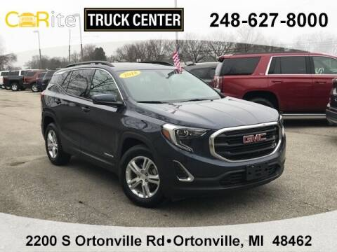 2018 GMC Terrain for sale at Carite Truck Center in Ortonville MI