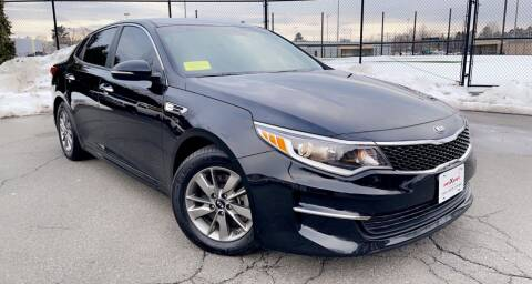 2016 Kia Optima for sale at Maxima Auto Sales in Malden MA