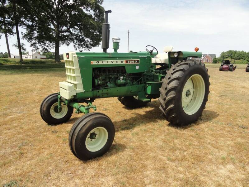 1968 Oliver 1650 for sale at JFS POWER EQUIPMENT in Sims NC