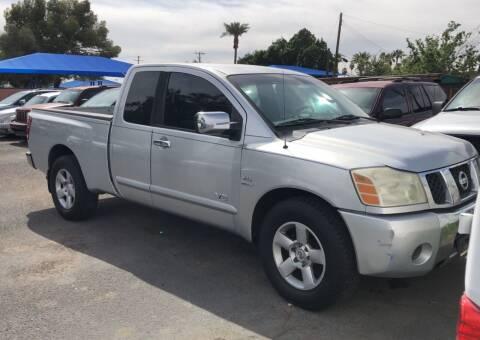 2004 Nissan Titan for sale at Valley Auto Center in Phoenix AZ