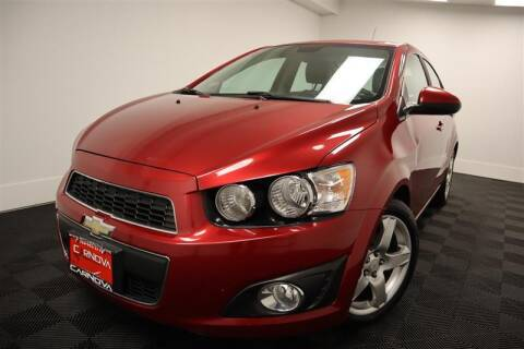 2012 Chevrolet Sonic for sale at CarNova in Stafford VA