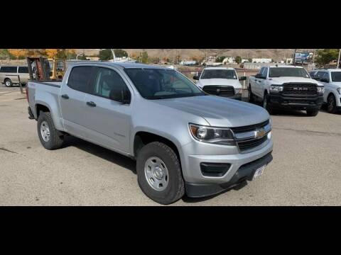 2016 Chevrolet Colorado for sale at Shamrock Group LLC #1 in Pleasant Grove UT