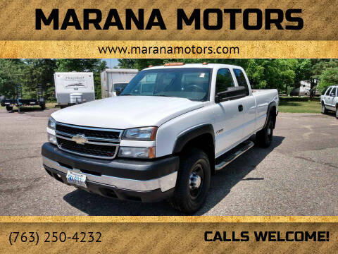 2006 Chevrolet Silverado 3500 for sale at Marana Motors in Princeton MN