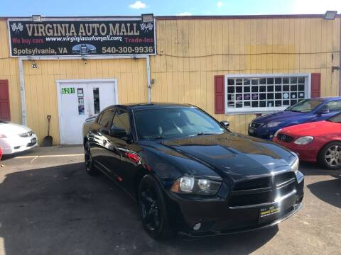 2012 Dodge Charger for sale at Virginia Auto Mall in Woodford VA