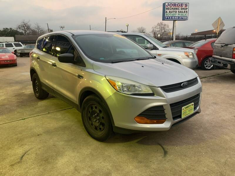 2013 Ford Escape for sale at JORGE'S MECHANIC SHOP & AUTO SALES in Houston TX