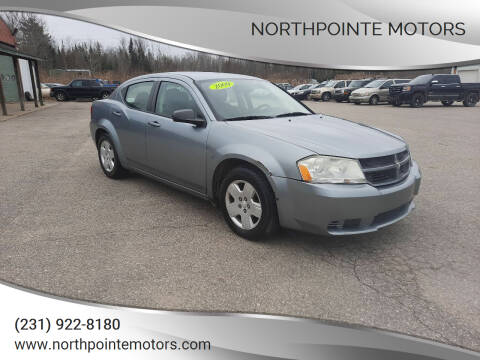 2009 Dodge Avenger for sale at Northpointe Motors in Kalkaska MI