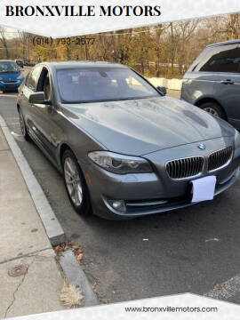 2011 BMW 5 Series for sale at bronxville motors in Bronxville NY